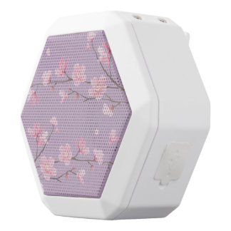Cherry Blossom White Bluetooth Speaker