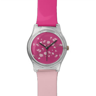 Cherry Blossom Wrist Watch