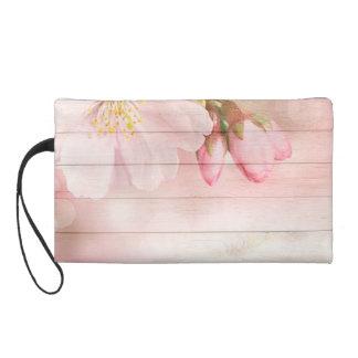 Cherry Blossom Wristlet