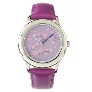 Cherry Blossom Wristwatch