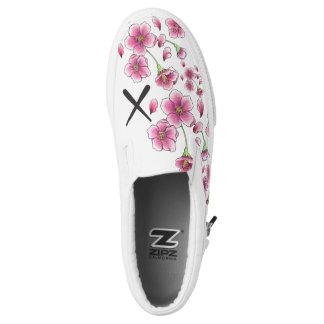 Cherry Blossom X slip on shoes
