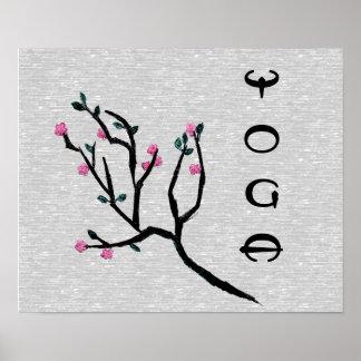 Cherry Blossom - Yoga Poster