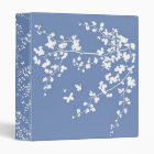 Cherry Blossoms 3 Ring Binder
