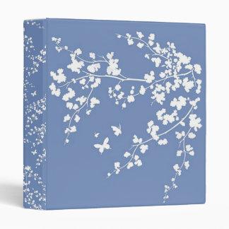 Cherry Blossoms 3 Ring Binder