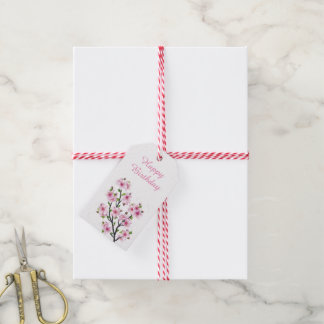 Cherry Blossoms 4 Gift Tags
