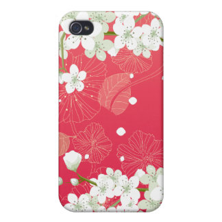 Cherry Blossoms 4 iPhone 4 Case