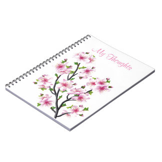 Cherry Blossoms 4 Note Book