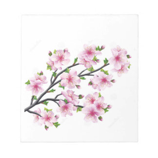 Cherry Blossoms 4 Notepad