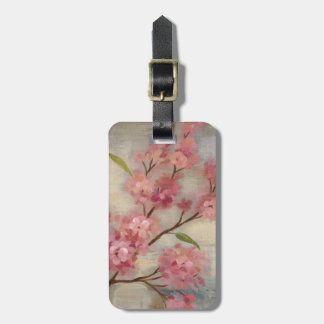 Cherry Blossoms and Branch Luggage Tag