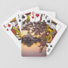 Cherry Blossoms And The Jefferson Memorial Playing Cards