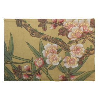 Cherry Blossoms Asian Japanese Art Placemat