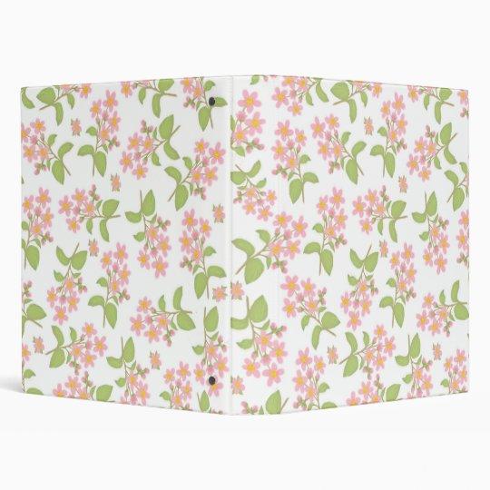Cherry Blossoms Avery Binder