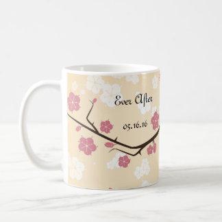 Cherry Blossoms Branch Weddings Coffee Mug