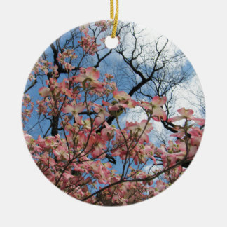 Cherry Blossoms Ceramic Ornament