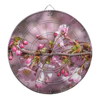 Cherry Blossoms Dartboard