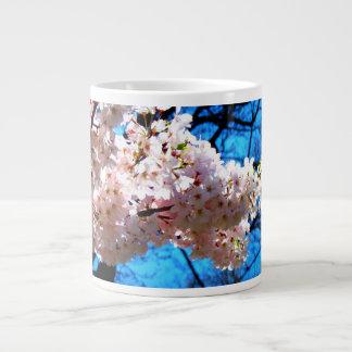 Cherry Blossoms in Brooklyn Jumbo Mug