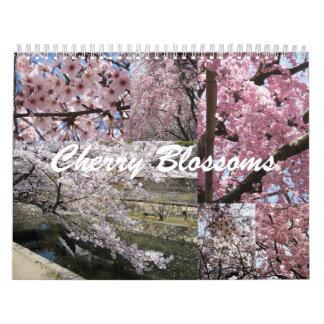 Cherry Blossoms in Japan Calendar