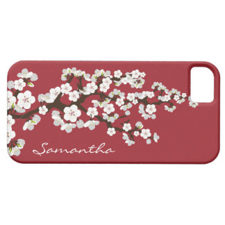 Cherry Blossoms iPhone 5 Case-Mate Case (red) iPhone 5 Case
