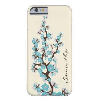Cherry Blossoms iPhone 6 Case (aqua)