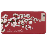 Cherry Blossoms iPhone 6 PLUS Case (red) Barely There iPhone 6 Plus Case