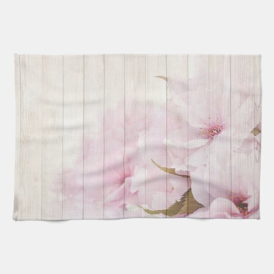 Cherry Blossoms Kitchen Towel
