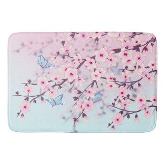 Cherry Blossoms Landscape Bath Mat