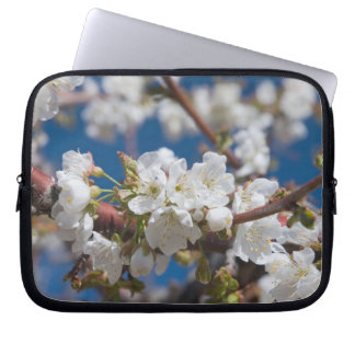 Cherry Blossoms Landscape Laptop Sleeves