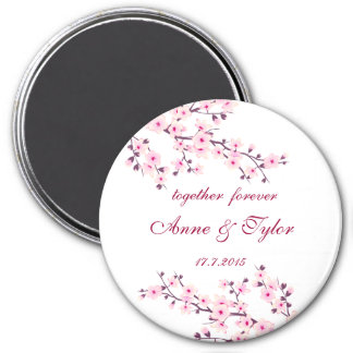 Cherry Blossoms Magnet Save The Date