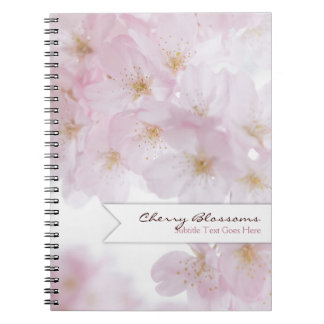 Cherry Blossoms Notebooks