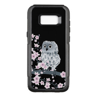 Cherry Blossoms Owl Cute Animal Girly OtterBox Commuter Samsung Galaxy S8+ Case