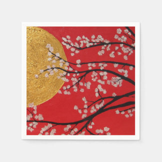 Cherry Blossoms - paper Napkins