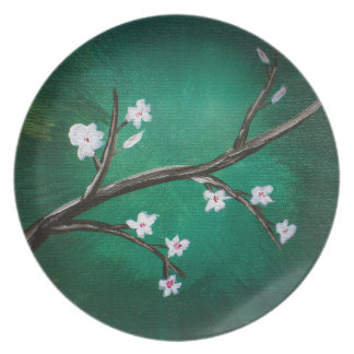Cherry Blossoms Party Plate