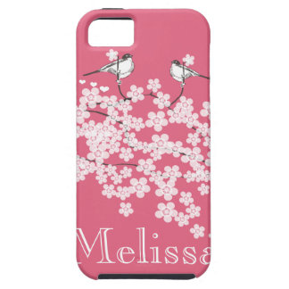Cherry Blossoms Personalized iPhone 5 case