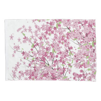 Cherry Blossoms Pillow Case