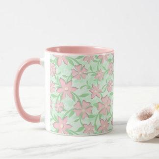 Cherry Blossoms Pink Sakura Bloom Spring Flowers Mug
