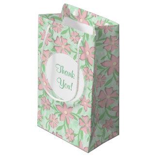 Cherry Blossoms Pink Sakura Bloom Spring Flowers Small Gift Bag