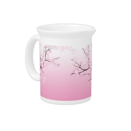 Cherry Blossoms Pitcher