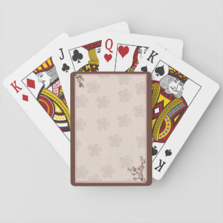 Cherry Blossoms Playing Cards