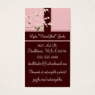 Cherry Blossoms Profile Card