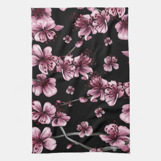 Cherry Blossoms Sakura Kitchen Towel