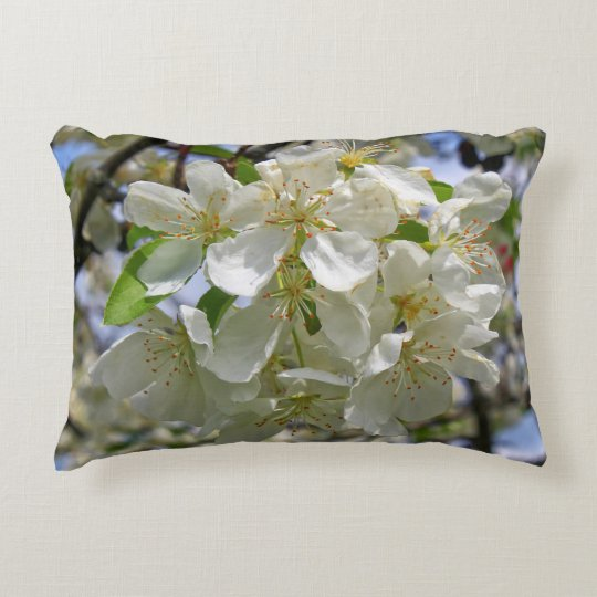 Cherry Blossoms Spring 2016 Decorative Pillow