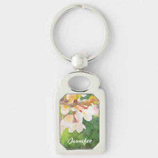 Cherry Blossoms Watercolor Sakura Flowers Spring Keychains