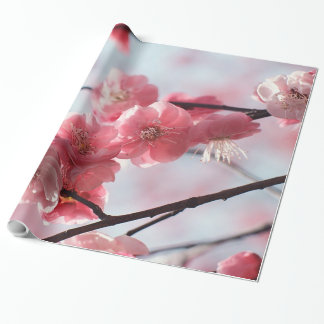 Cherry Blossoms Wrapping Paper
