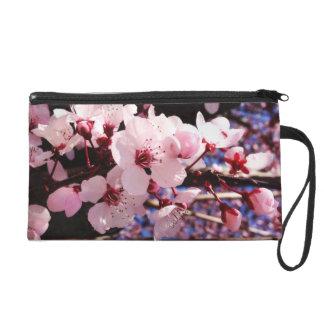 Cherry Blossoms Wristlet
