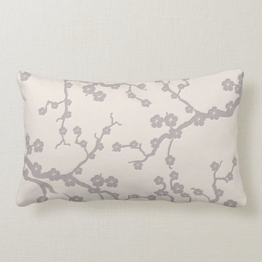 Cherry Blossons Lumbar Pillow