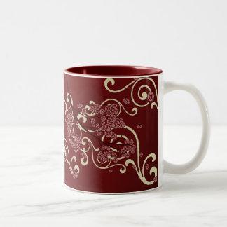 Cherry Branch Romance Mug