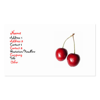 Cherry Business Card