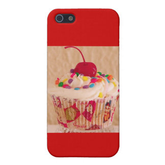 Cherry cupcake iPhone 5/5S covers