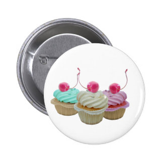 Cherry cupcakes buttons