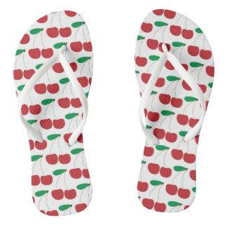Cherry Flip Flops